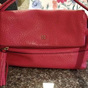 Bright pink Kate Spade crossbody bag